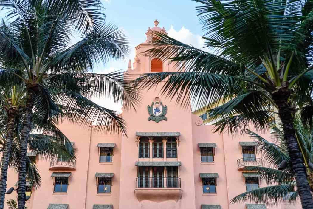 Oahu Hawaii Royal Hawaiian