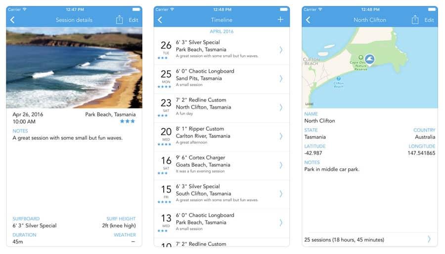 surf apps surftrackr
