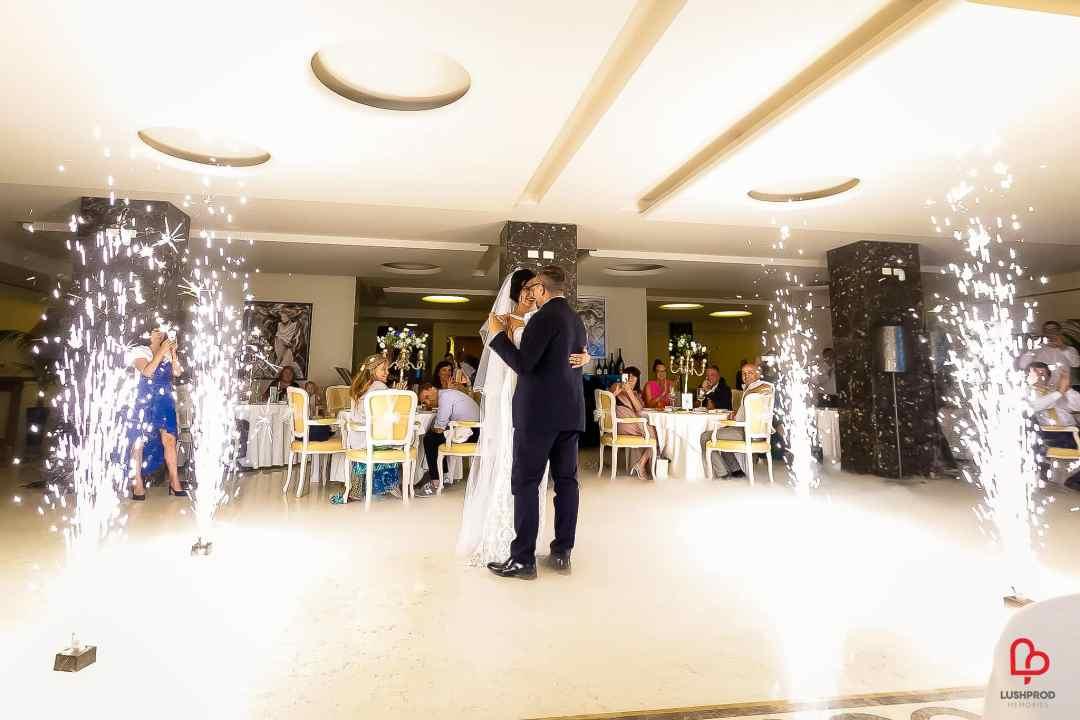 fuochi dartificio matrimonio nozze