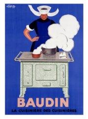publicité électroménager cuisinière BAUDIN
