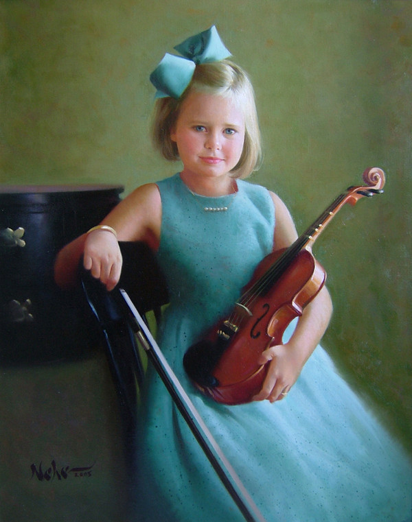 Portraits d'enfants