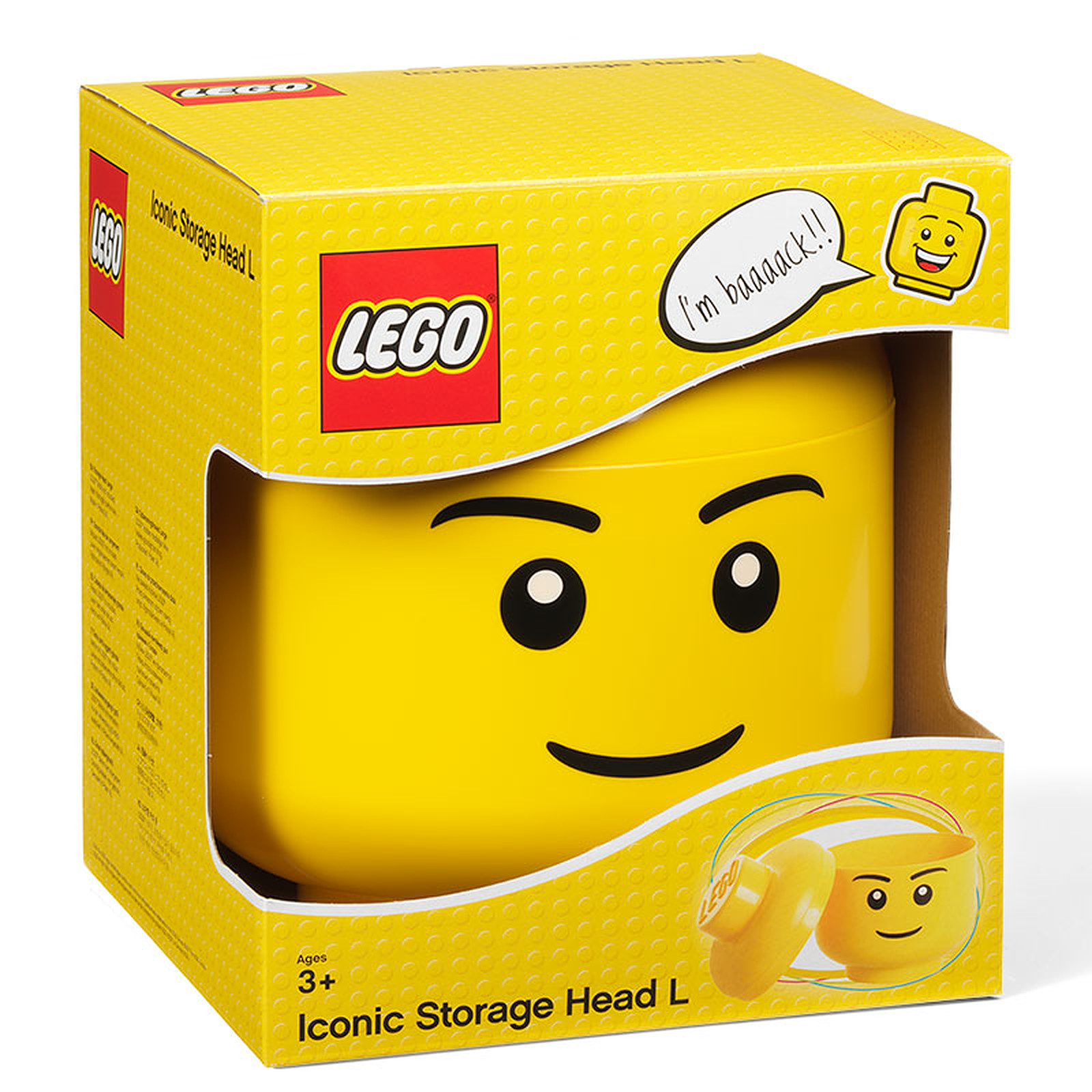 boite de rangement lego l