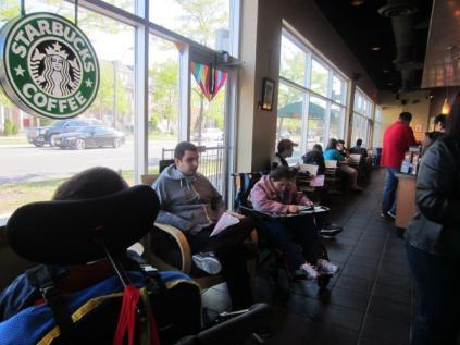 Starbucks Break
