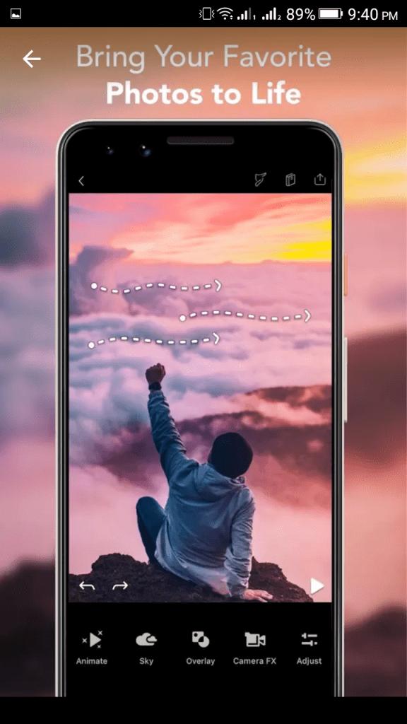 Photos to Life with Pixaloop Pro Apk