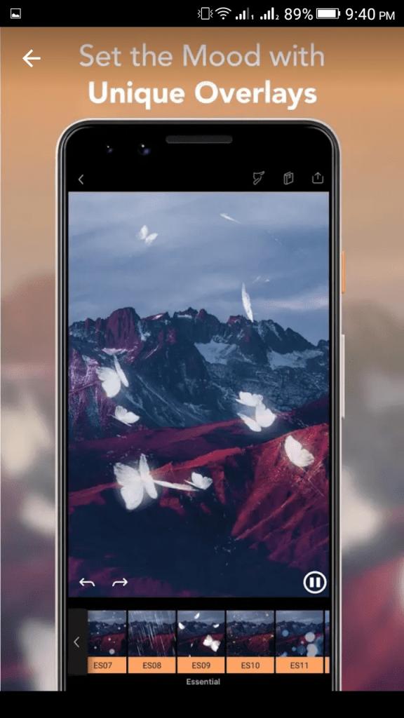 Unique Overlays with Pixaloop Pro App