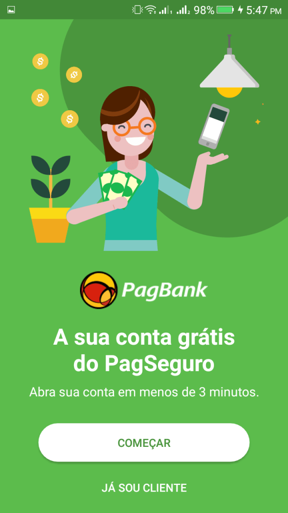 ScreenShot of PagBank