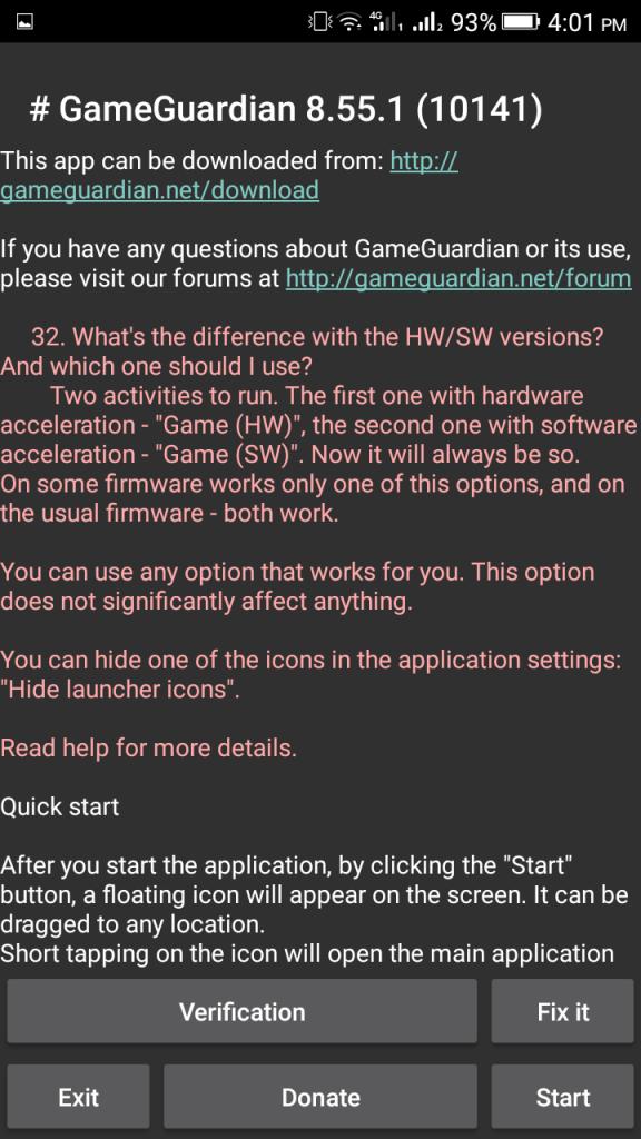Screenshot of GG Mod Apk