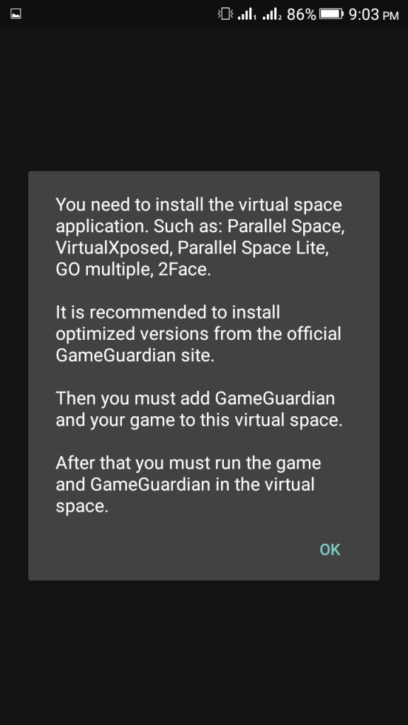 Screenshot of GG Modz Pro Apk