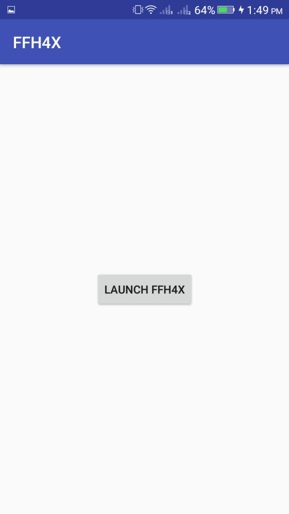 Screenshot of FFH4X