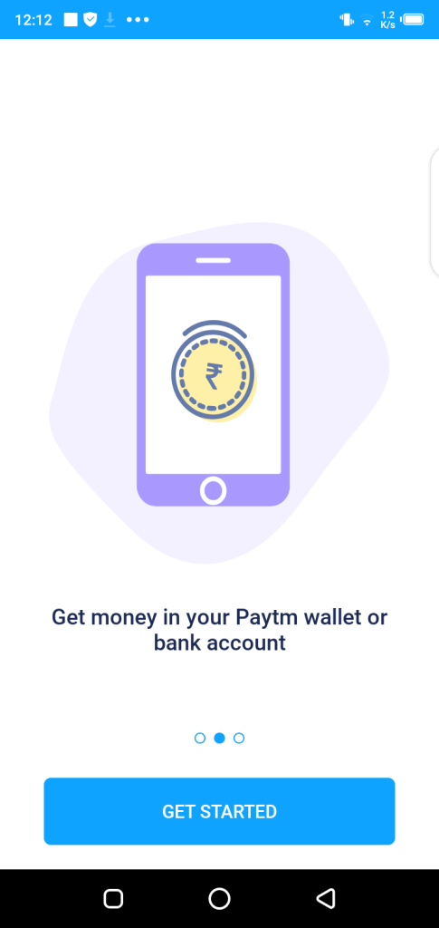 Screenshot of mPokket App