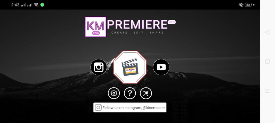Screenshot of Adobe Premiere Pro Apk