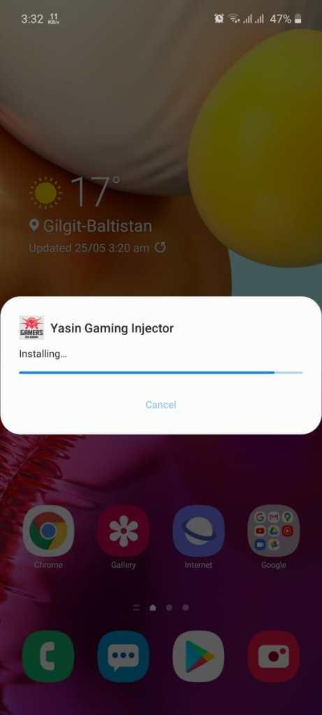 Yasin Gaming Injector