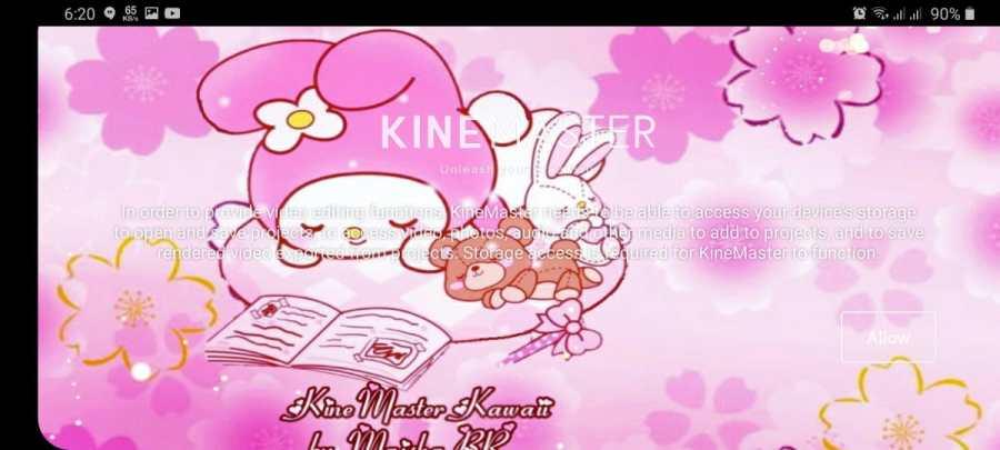 Screenshot of Kinemaster Kawaii Apk