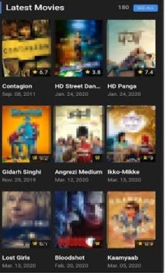 Screenshot of Cave App