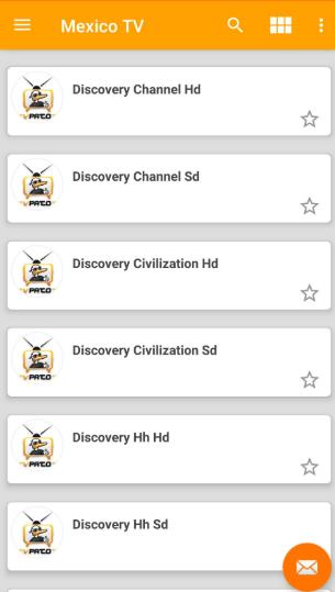 Screenshot of Patoplayer App
