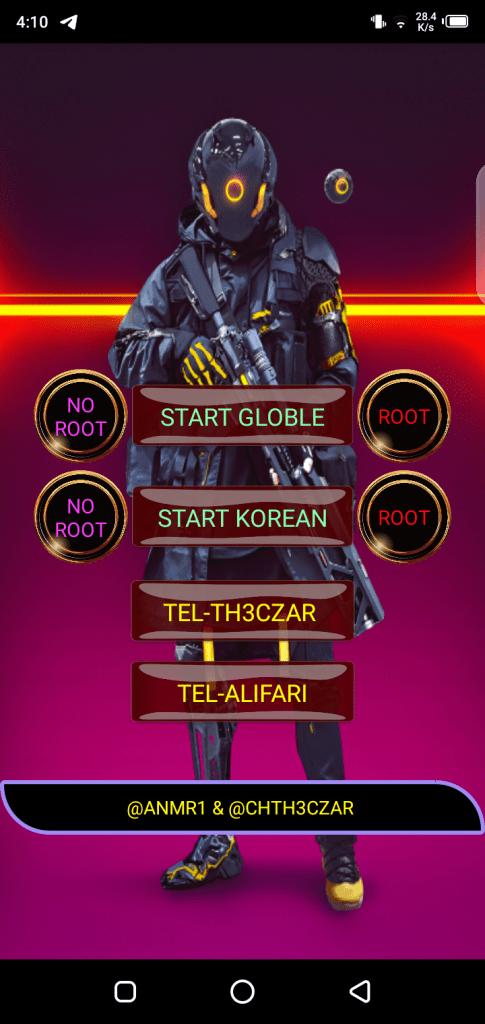 Screenshot of Th3czar Injector VIP APK