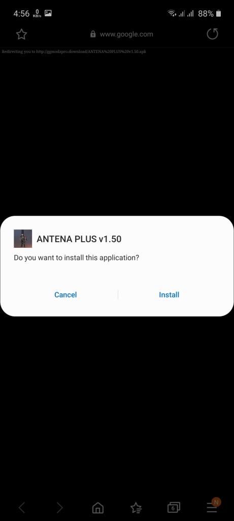 Screenshot of Antena Plus