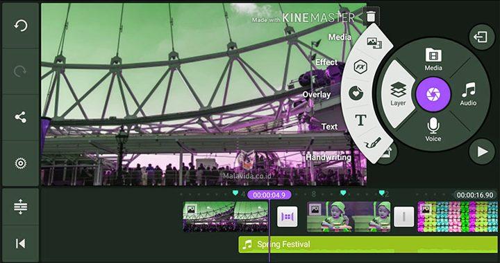 Screenshot of Kinemaster Darknet App