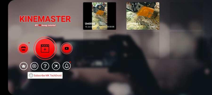Screenshot of Kinemaster RED Pro