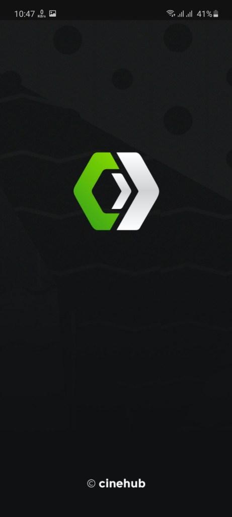 Screenshot of CineHub