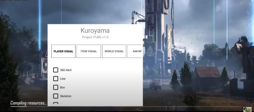Screenshot of Kuroyama PUBG