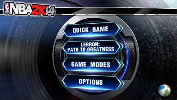 Screenshot of NBA 2k14 Apk