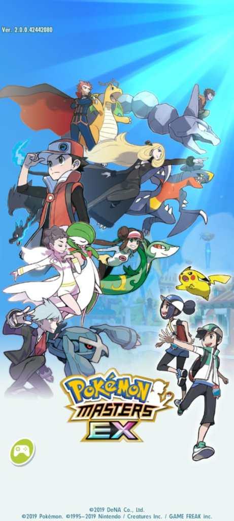 Screenshot of Pokémon Masters EX Game