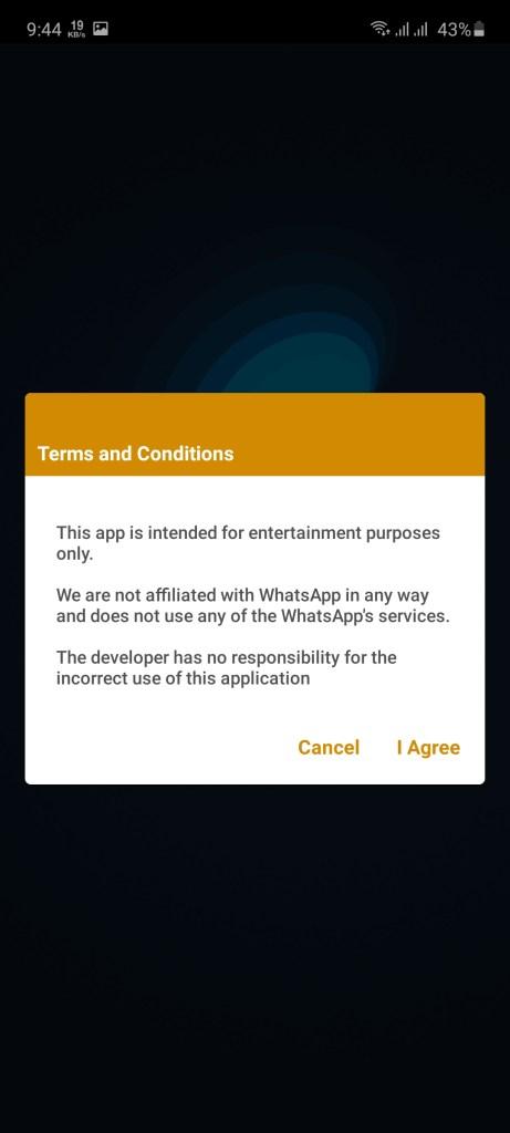 Screenshot of WhatsMock Pro Apk