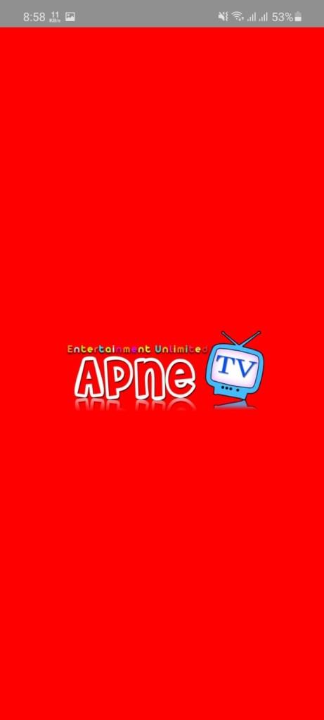 Screenshot of Apne.TV Apk