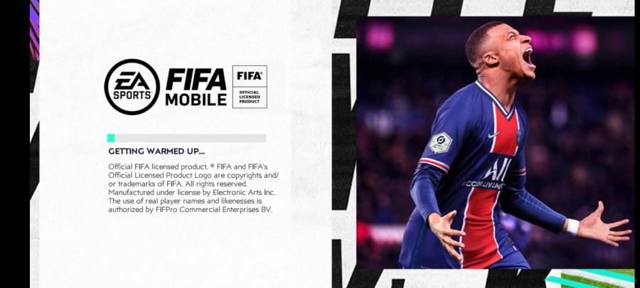 Screenshot of FIFA Mobile 21