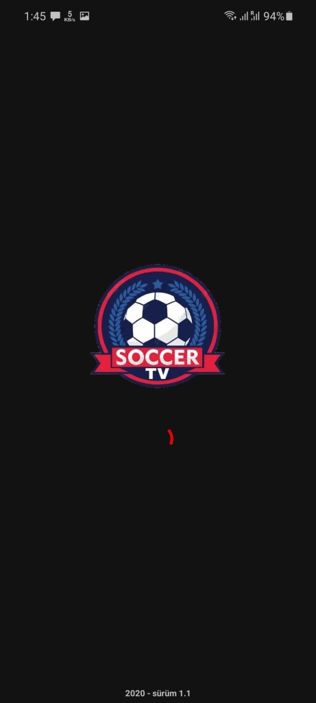 Screenshot of Soccer TV Apk