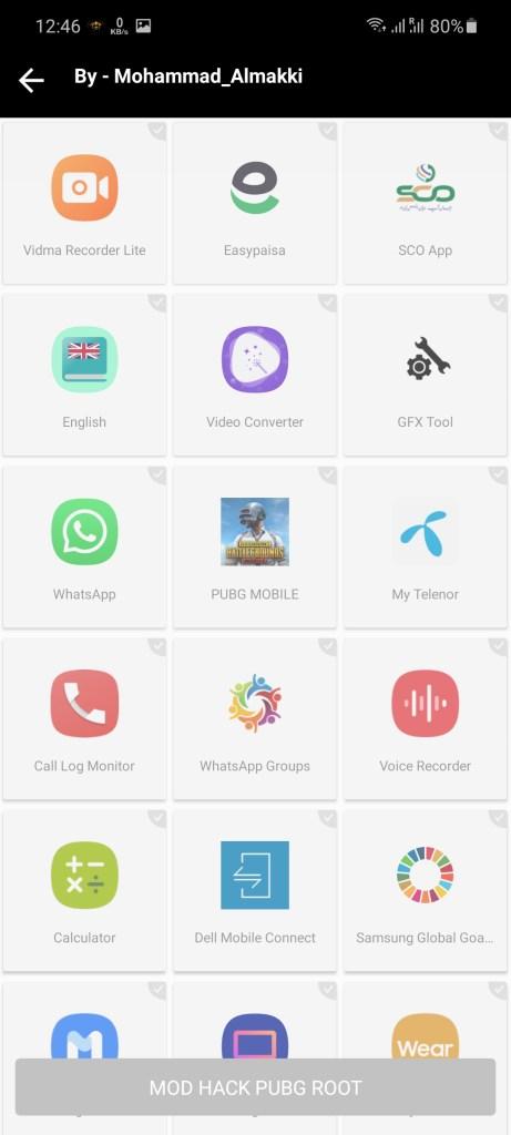 Screenshot of Virtual Q10 App