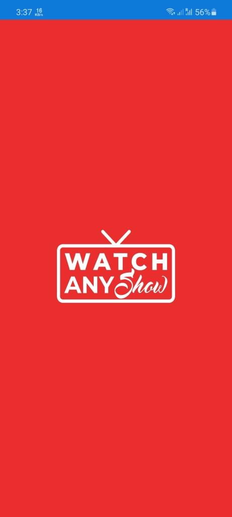 Screenshot of Watch Any Show Apk