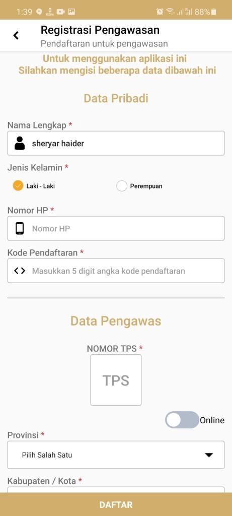 Screenshot of Siwaslu 2020 For Android