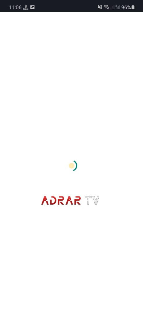 Screenshot of Adrar TV