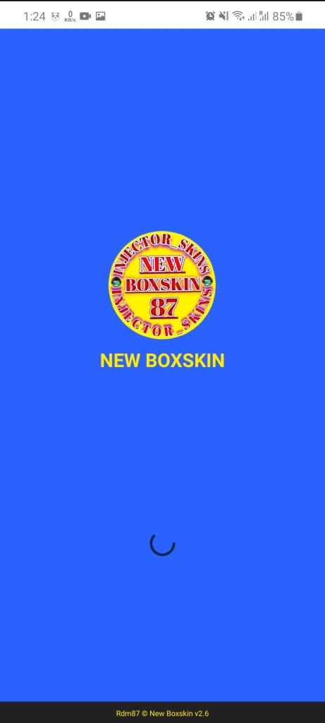 Screenshot of New Box Skin