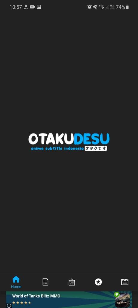 Screenshot of Otakudesu App