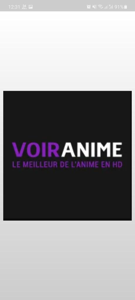 Screenshot of Voiranime App