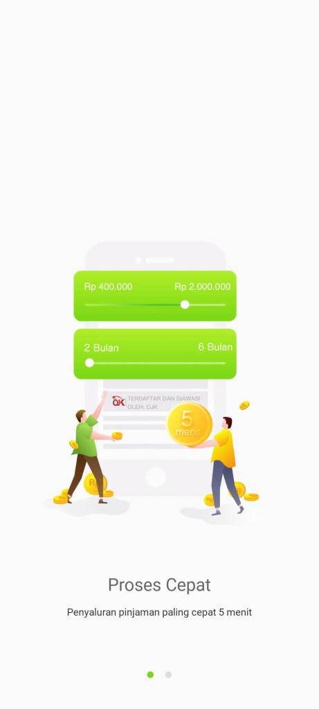 Screenshot of Adakami App