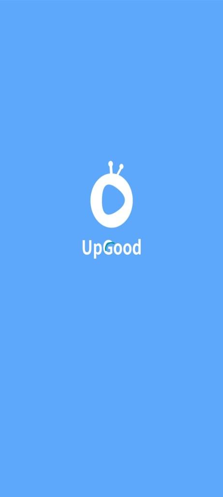 Screenshot of UpGood App