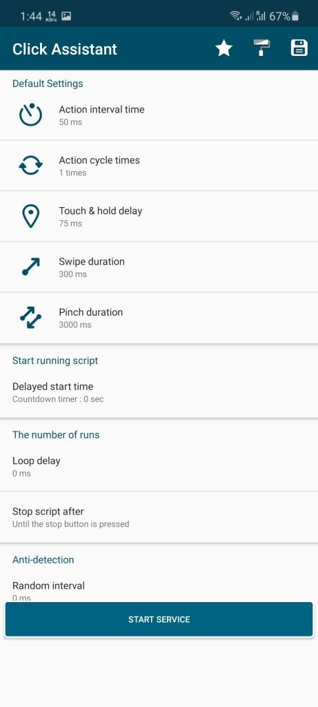 Screenshot of Asisten Klik Android