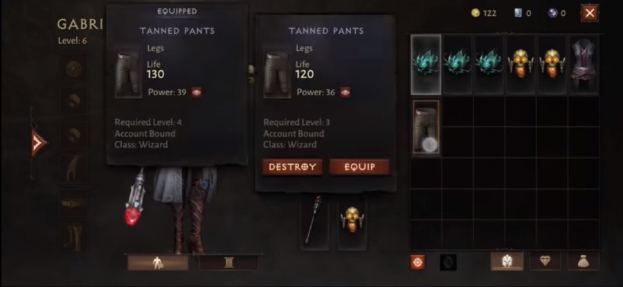 Screenshot of Diablo Immortal Game