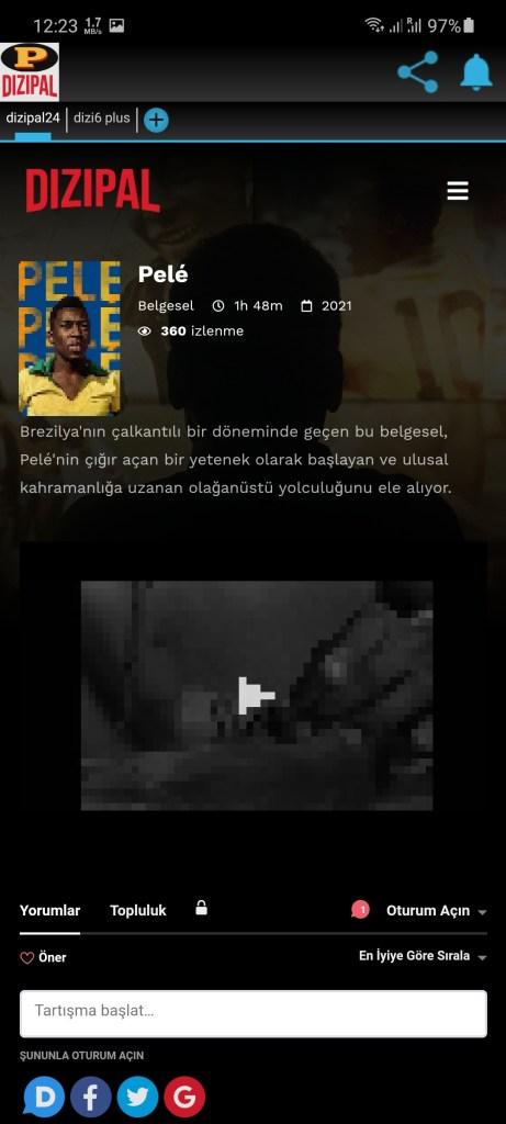 Screenshot of Dizipal Apk Download