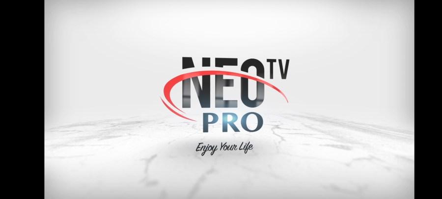 Screenshot of NEOTV Pro 2