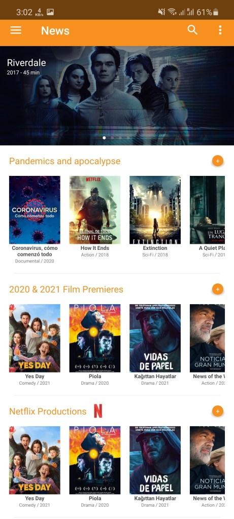 Screenshot of PV Cine Download
