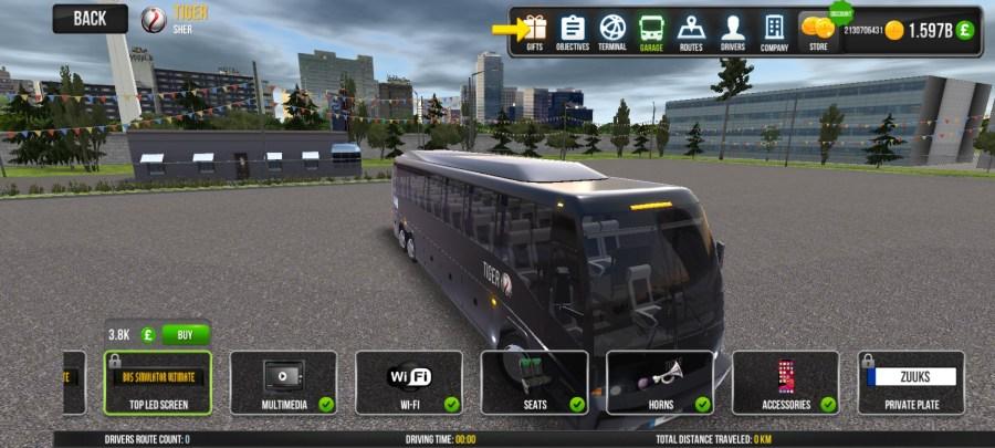 Screenshot of Bus Simulator Ultimate Skin Download