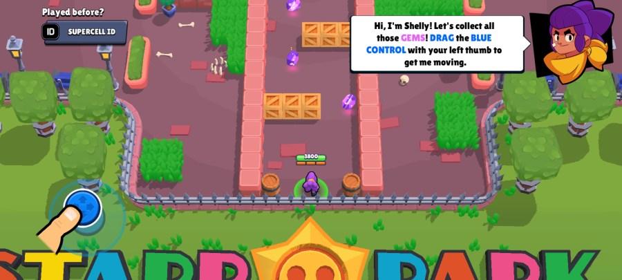 Screenshot of Nulls Brawl Alpha Belle