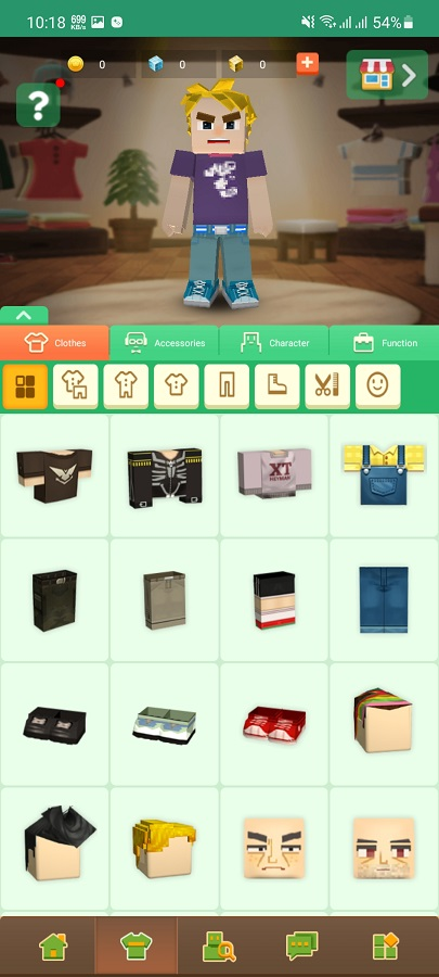 Screenshot of Blocky Mods Testing Download