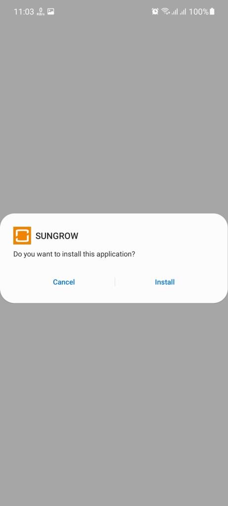 Screenshot of Sungrow Apk