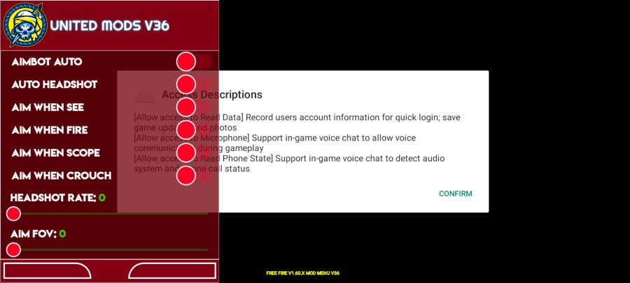 Screenshot of United Mods Apk